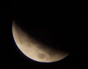Eclipse de luna (feb. 2007)